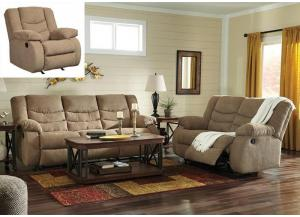 Reclining Sofa & Loveseat + FREE Recliner