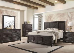 Cimarron King Bed w/ Dresser & Mirror + FREE Chest & Nightstand