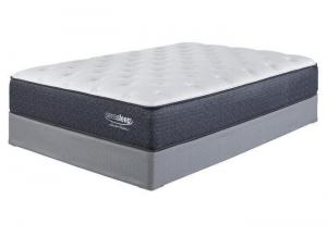 Limited Edition Plush White Queen Mattress w/FREE Memory Foam Pillow