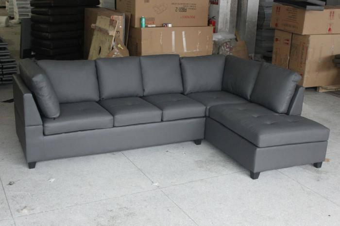 6155 GRAY SECTIONAL,XLNC Xclusives